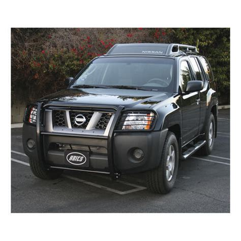 aries grille guard  piece black powder coated steel