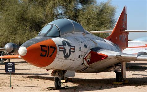 Grumman TF-9J Cougar at the Pima Air & Space Museum