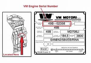 Engine Serial Number Location  U2013 Vm Diesel Specialist Ltd