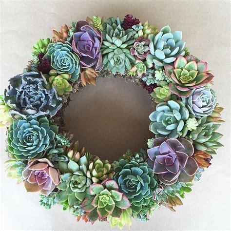 succulent wreath best 25 succulent tattoo ideas on pinterest plant