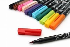 sakura koi coloring brush pen 12 color set jetpenscom With koi brush pen lettering