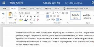 How To Create  Edit  And View Microsoft Word Documents For
