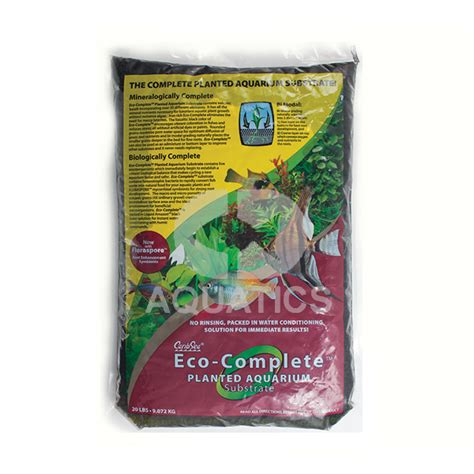 caribsea eco complete plant substrate 20lb 9kg cd aquatics caribsea eco complete plant