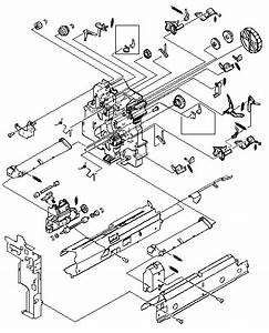 Hp Laser Printer Parts For Model 8500 Paper Pickup Assembly