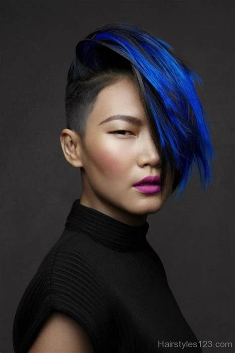 blue hairstyles page