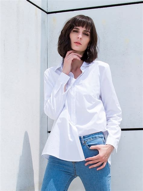 Best White Button Down Shirt Ideas And Images On Bing Find What