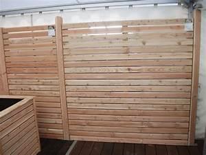 Balkonverkleidung Aus Holz : sichtschutzzaun holz hagebau ~ Lizthompson.info Haus und Dekorationen