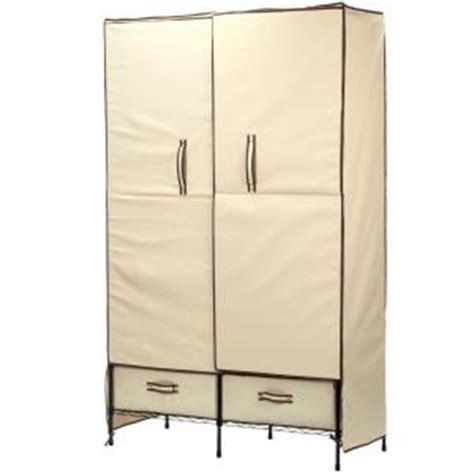 Portable Wardrobe by Honey Can Do Portable Wardrobe Storage Closet Wrd 01274