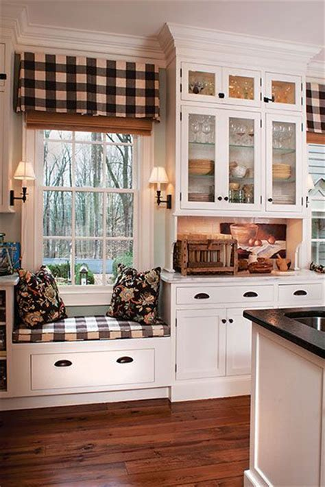 white country kitchen vytvorte si 250 tuln 233 z 225 kutie pri okne kde načerp 225 te nov 250 1303