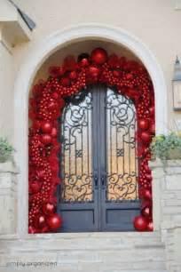outside christmas door decorations designcorner
