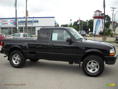 ford ranger 4x4 extended cab 1999 ford ranger xlt extended cab 4x4 in black clearcoat a72438 truck n sale