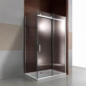 Les 25 meilleures idees concernant paroi de douche for Porte de douche coulissante avec mosaique nacre salle de bain