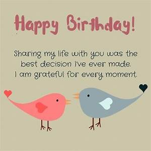 Happy Birthday Husband Wishes, Messages, Quotes And Cards