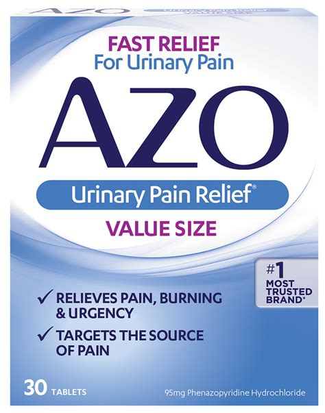 66153 Azo Urinary Relief Coupon by Azo Urinary Relief 174 1 Most Trusted Brand For Uti