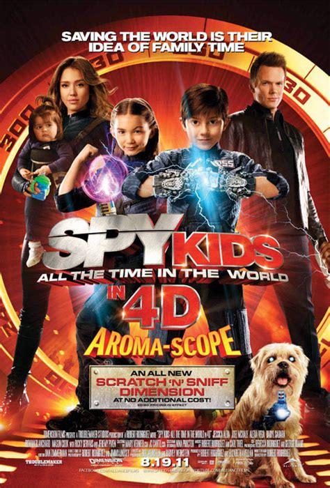 spy kids time world dvd synopsis plot