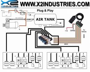 Air Bag Suspension Schematic