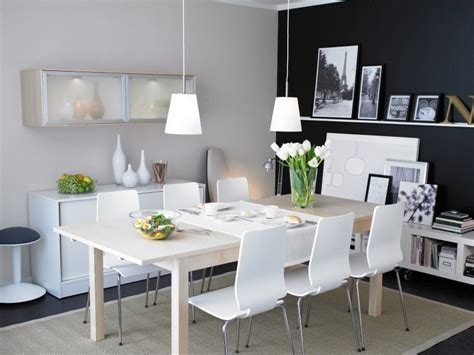 Ikea Esszimmer by Ikea Dining Room The Wall Shelves Table