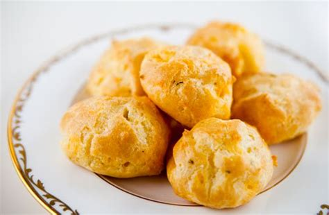 crab canapes cheddar cheese puffs recipe simplyrecipes com