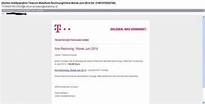 Telekom Rechnung Drucken : angebliche rechnung der telekom phishing ~ Themetempest.com Abrechnung