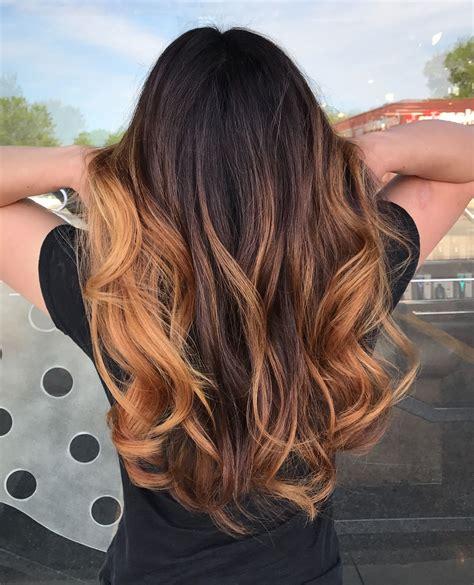 Sun Brown Hair by Caramel Balayage On Brown Hair Sun Kissed