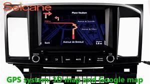2 Din Radio Navigation System Stereo Upgrade For 2014 2015 Mitsubishi Lancer Usb Sd