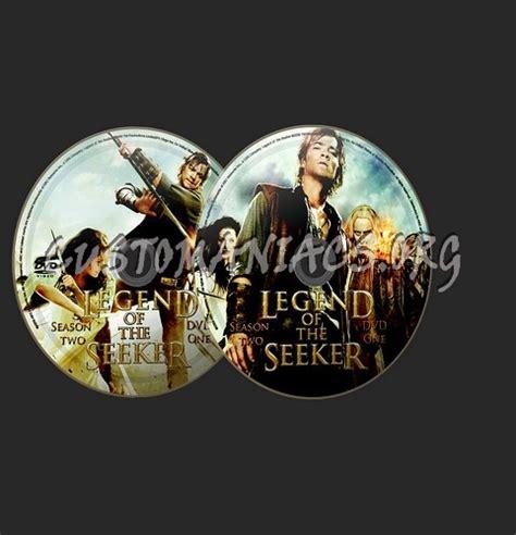 legend   seeker dvd label dvd covers labels