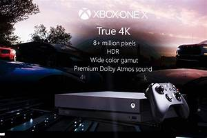 Xbox One X Coming November 7 For 499 Everything We Know