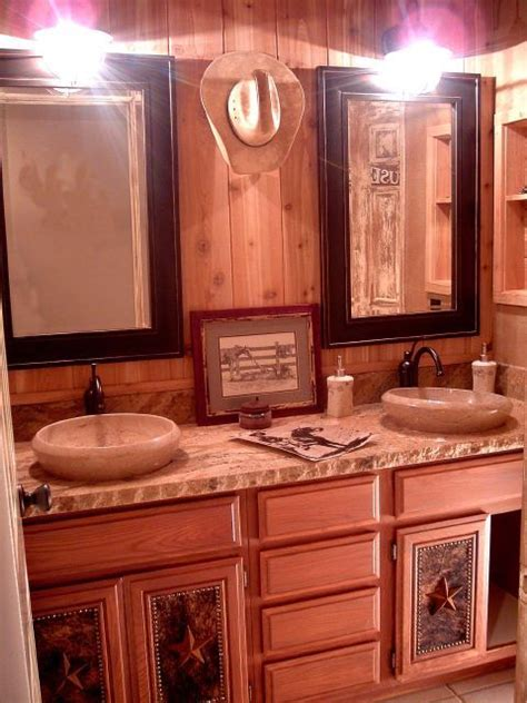 Western Themed Bathroom Ideas by Western Cowboy What I Want To Do With Our Bathroom When We