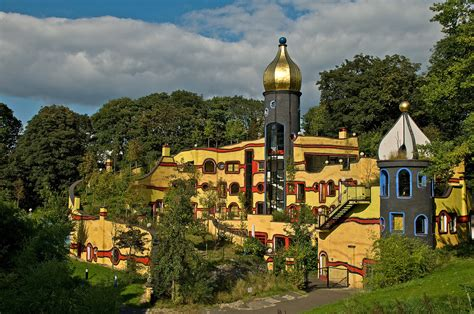 Häuser Park by Hundertwasser Haus Gruga Park Essen Foto Bild