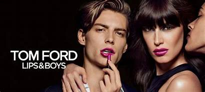 Tom Ford Boys Lips Beauty Campaign Makeup