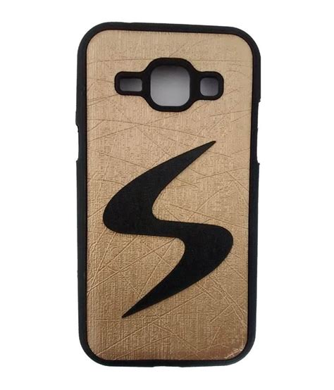 free mobile cover mobile case back cover for samsung galaxy j1 gold
