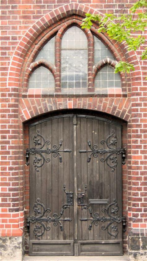 Rustic German Church Door   Eclectic   Front Doors