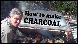 How To Make Charcoal For Barbecue At Home Yourself YouTube