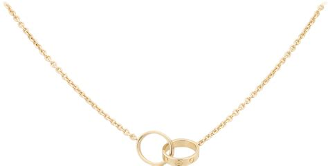 CRB7212400 - LOVE necklace - Yellow gold - Cartier