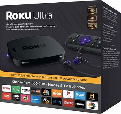 4k Roku Ultra Streaming Player Device Hdr