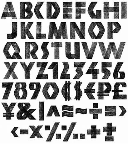 Font Chalk Fonts 3d Creative Typeface Handmadefont