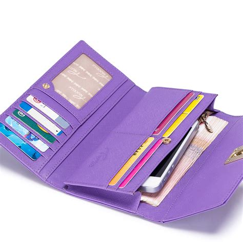 colorful wallets nucelle colorful sweet leather wallet purple