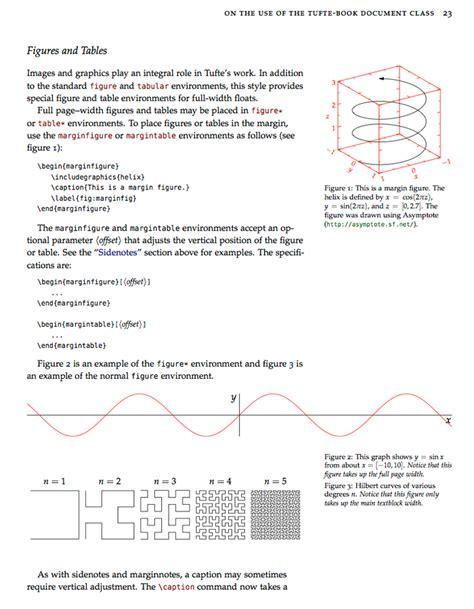 latex templates tufte style book