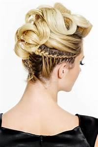 Blonde Mittellange Haare : blonde flecht hochsteckfrisur hochsteckfrisuren f r lange und mittellange haare ~ Frokenaadalensverden.com Haus und Dekorationen