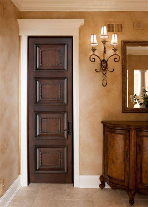 small tall mahogany interior door installing interior