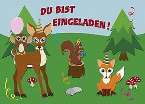 Einladung Kindergeburtstag Wald : 10 postkarten einladungskarte einladung geburtstag kinder reh eule fuchs wald eur 7 99 ~ Markanthonyermac.com Haus und Dekorationen