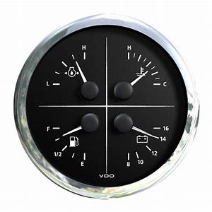 Vdo Viewline Combi 4 In 1 Multifunction Black 110mm