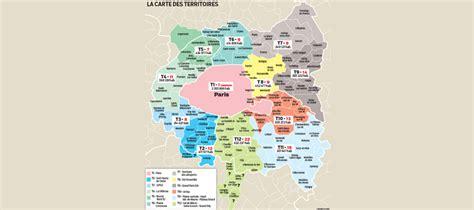 Carte Departement Parisien by Carte De D 233 Couvrez Les Villes Parisiennes Pays Monde