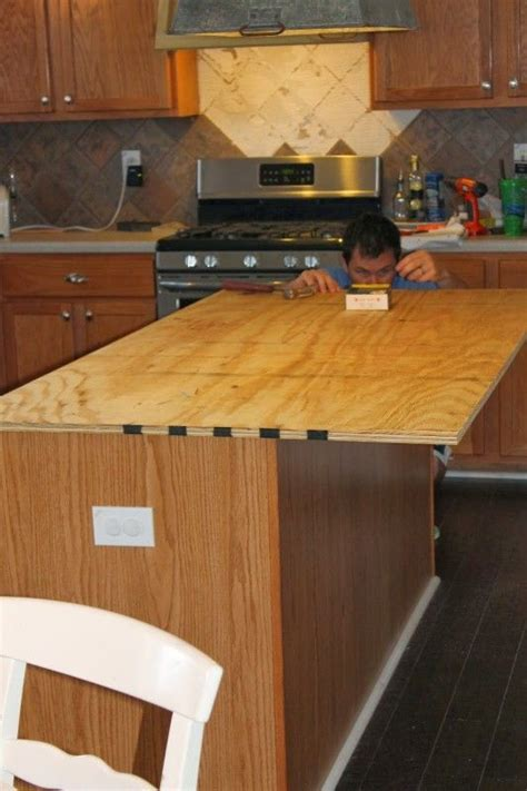 How to Create Faux Reclaimed Wood Countertops   Islands