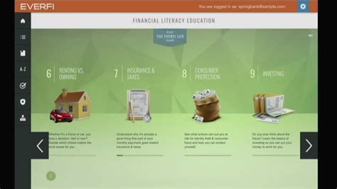 everfi program teaches good financial habits youtube