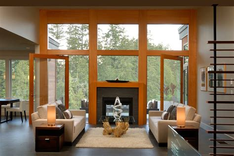 curtains for kitchen window above window above fireplace living room contemporary with tan