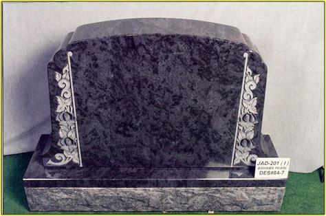 black granite headstones pictures home design ideas