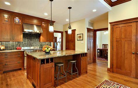 craftsman style kitchen decoist