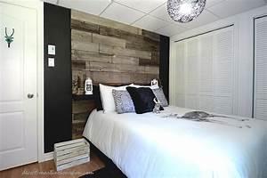 Deco Chambre Bois : mur de salon en bois de grange ~ Melissatoandfro.com Idées de Décoration