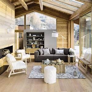 meubles deco dinterieur contemporain maisons du monde With tapis chambre bébé avec canape montagne occasion